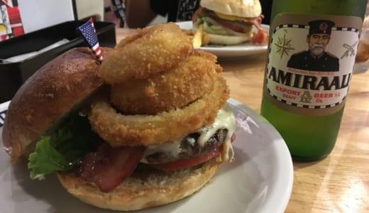 【実食レポ】TSUNAMI(津波)│横須賀ネイビーバーガーの行列店を訪問!大サイズのハンバーガーと地ビールで過ごす休日が最高!