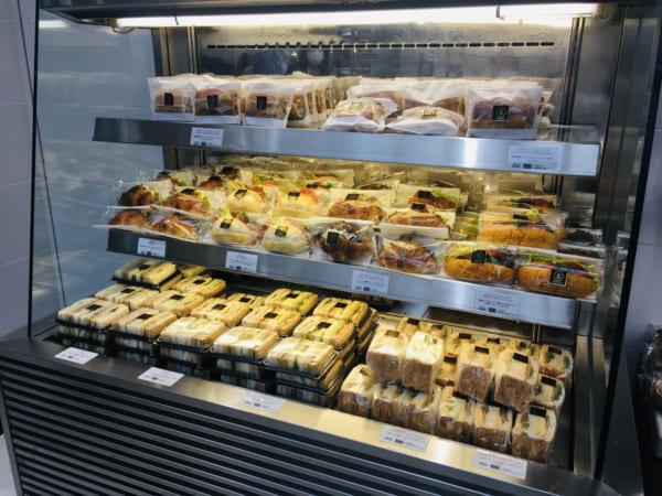 ブルディガラトーキョーのサンドイッチ