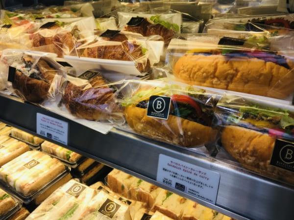 ブルディガラトーキョーのサンドイッチ(アップ目)