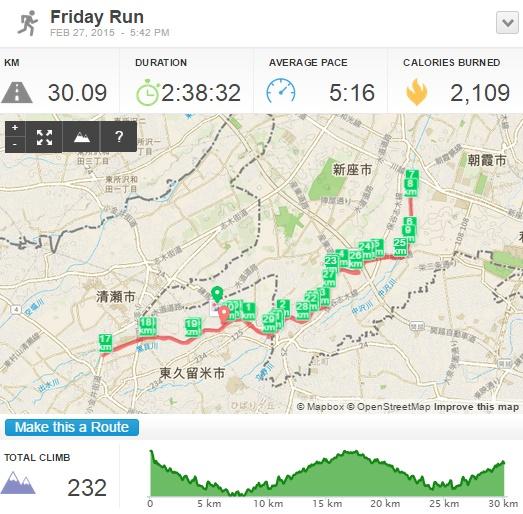 楽RUNを活用して、初めて30kmを完走! 効果を実証したので、あとは筋力&心肺機能を追い込みます! 【横浜マラソンまで16日】