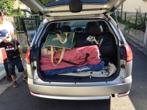 レンタカーで軽井沢へ!アウトサイドベースでキャンプ。行きの関越道ドライブ&旧軽井沢散策編