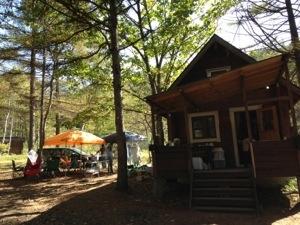 軽井沢でキャンプ! 田中ケンさんのアウトサイドベースと浅野屋のパンで満喫してきた!二日目編