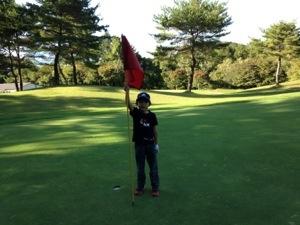 和美ゴルフコース【コース紹介】軽井沢のショートコースにて、7歳の息子のラウンドデビュー ラウンド編