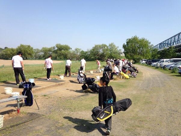 江戸川ラインゴルフ練習場|280ヤードの大型練習場はとにかく大人気!ショートコースの練習前にも一押し!