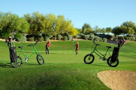 The Golf Bike(ゴルフバイク)|アメリカ発のゴルフ自転車がハンパなく欲しい!自転車にゴルフバッグを積むとエコと夢が広がる
