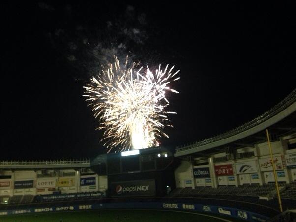 幕張ビーチ花火フェスタ | ZOZOマリンスタジアムで花火鑑賞するコツ!ゆったり座席で、爆音と花火の欠片を楽しめます