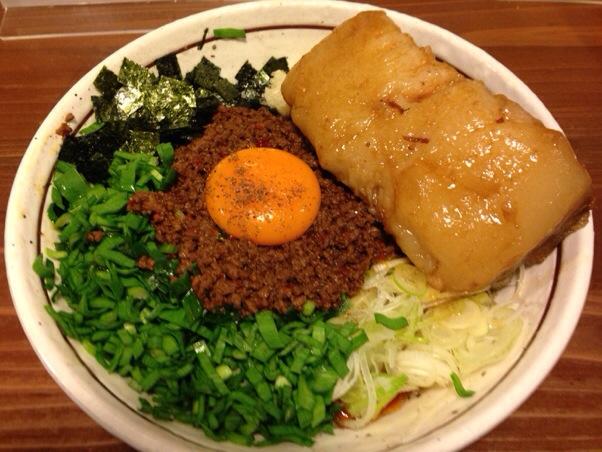 麺 酒 やまの│練馬で深夜に名古屋名物のまぜそばを食す。〆の追い飯がハンパなく美味い一杯!