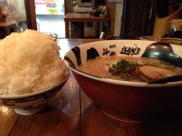 博多流豚骨ラーメン斗樹 | 白ご飯食べ放題のラーメンライス定食!とにかく炭水化物をお腹いっぱい食べたい方にピッタリのお店