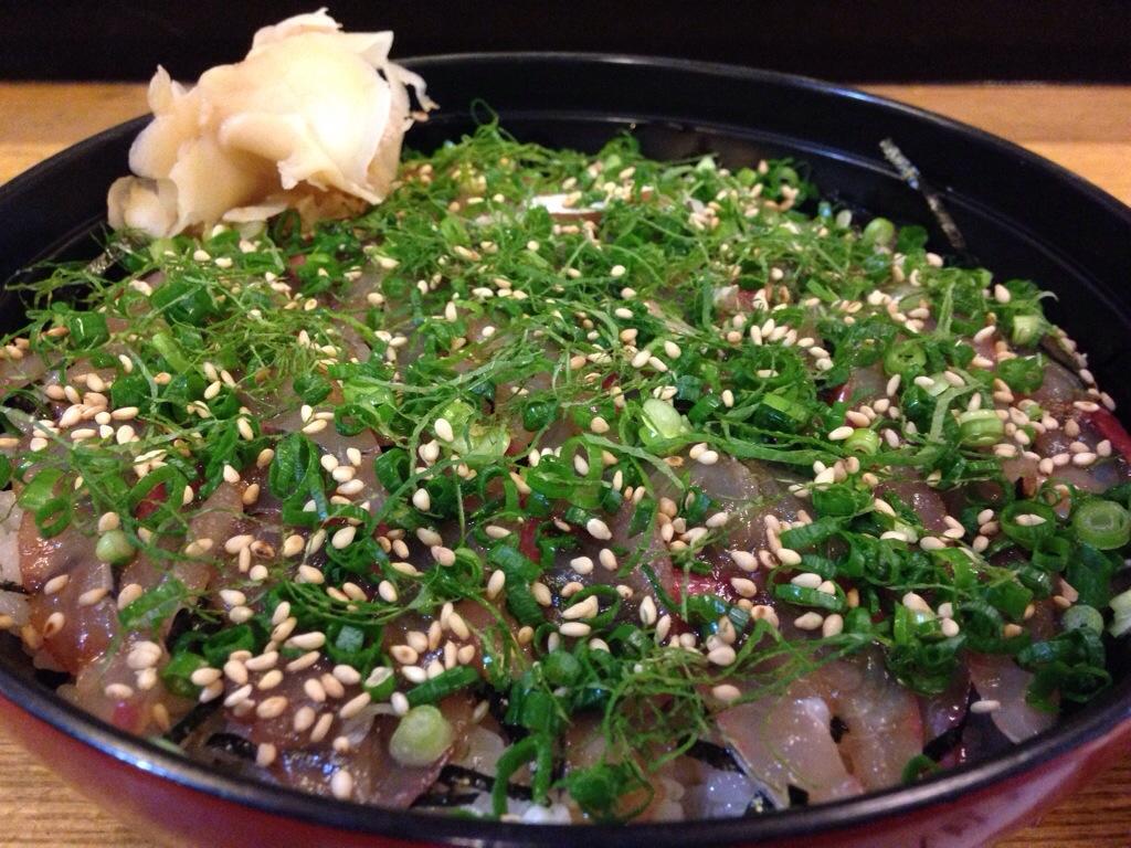 二代目与一@大分 | 大分名物「琉球丼」発祥のお店は、関アジを使用!とにかく身がプリップリで美味しかった~