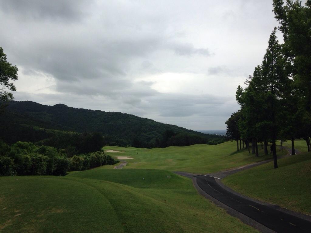 石岡ゴルフ倶楽部ウエストコース、3か月ぶりの外ラウンドで今年初の80台なるか!? 前半編