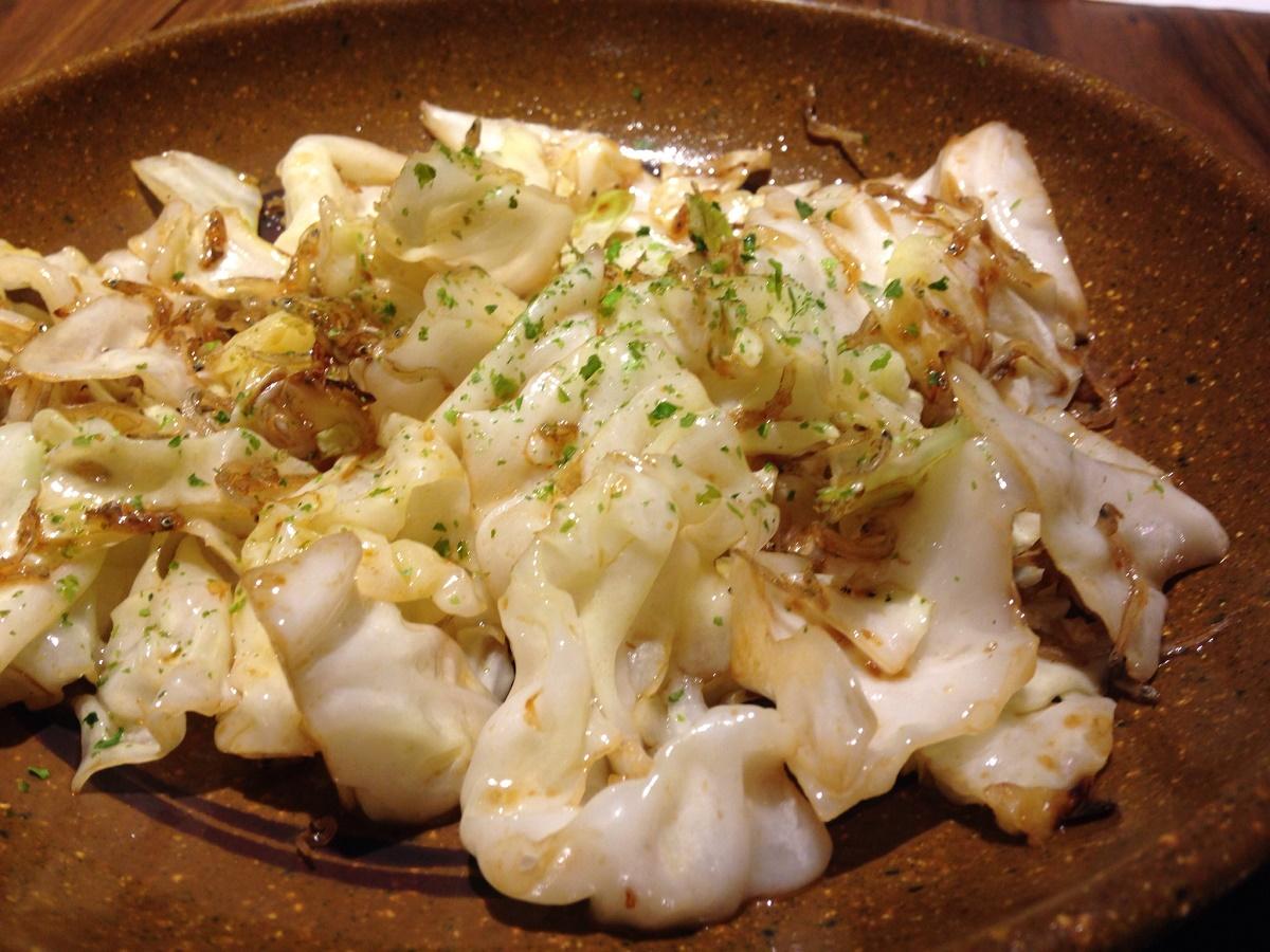 居酒屋たこの木 | ワイキキで食べる大阪の居酒屋は、ちりめんキャベツがどエライ美味かった!!