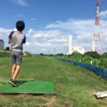 所沢市パークゴルフ場。都内近郊でゴルフを家族レジャーのきっかけにできる場所、芝生の上の散歩が楽しい!