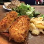 Blanc(ブラン) 虎ノ門ヒルズ至近のベーカリー&ビストロ。「熱い」と一推しのカニクリームコロッケとパン食べ放題で堪能