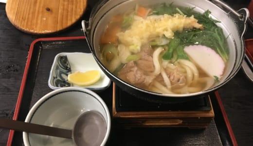 【讃岐うどん】かわたうどん│高松空港近く「鍋焼きうどん」が必食の名店は、地元民に大人気の創業80年超の和食レストラン!