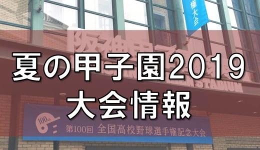 夏の甲子園2019│第101回大会の日程・入場券(チケット)の販売方法やスケジュール・主な変更点や球数制限は?