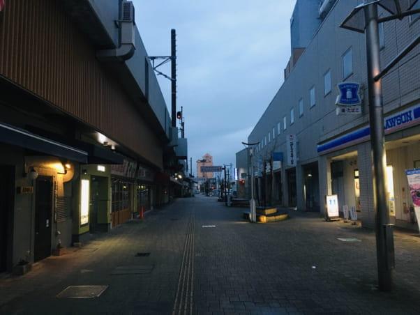 JR松江駅から「松江ゲストハウス」への行き方