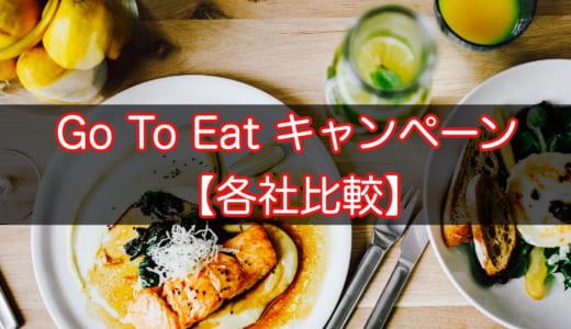 【各社比較】Go To イートキャンペーン 対象の飲食店予約サイト一覧|貯まるポイント・キャンペーン内容をわかりやすく解説