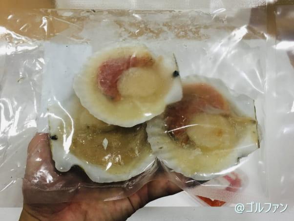 さっぽろ朝市 高水「北海道ふっこう福袋」の北海道産殻付きホタテ