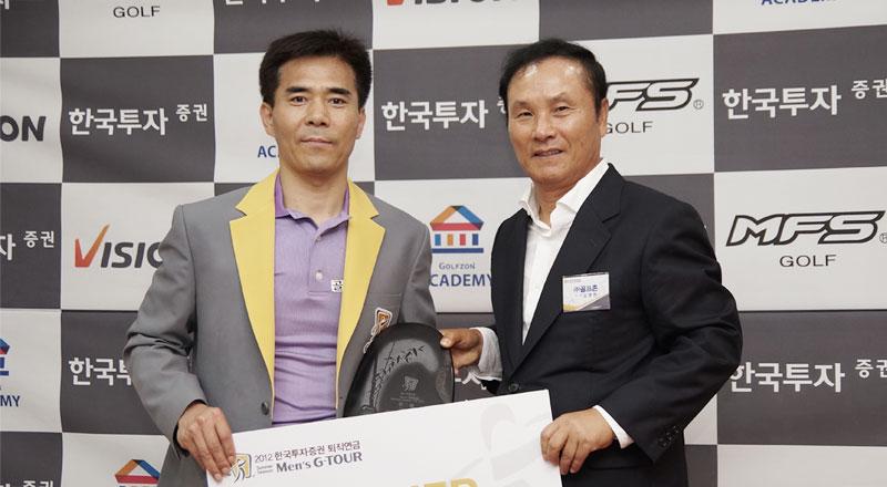 シミュレーションゴルフのプロツアー「GTOUR」第一戦、賞金総額5000万ウォンを賭けた戦いが開催されました!