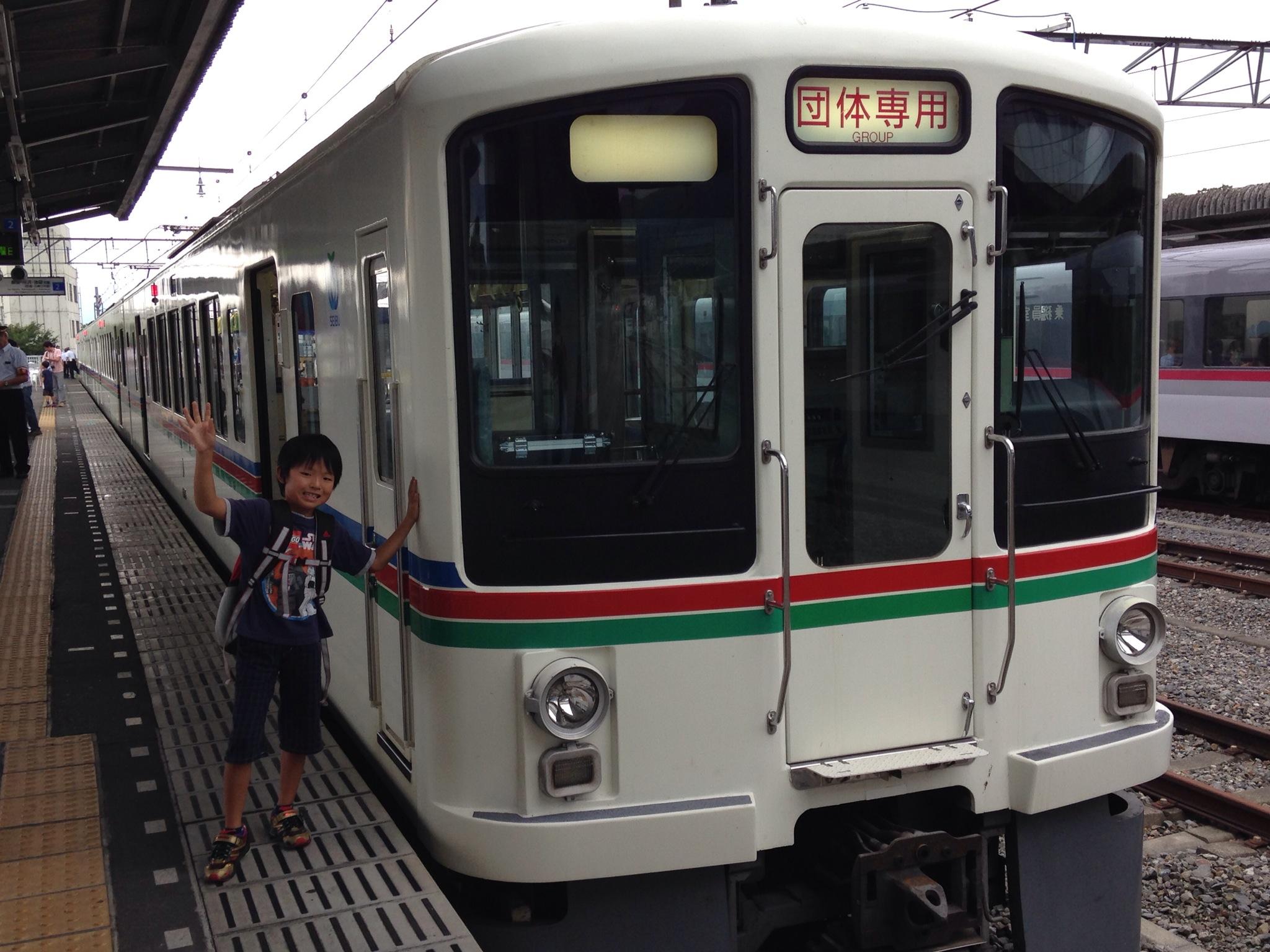 西武鉄道トンネル探検号親子体験ツアー2014、夏休みの親子イベントに参加!西武秩父への旅と昔懐かしの風景が楽しかった~。