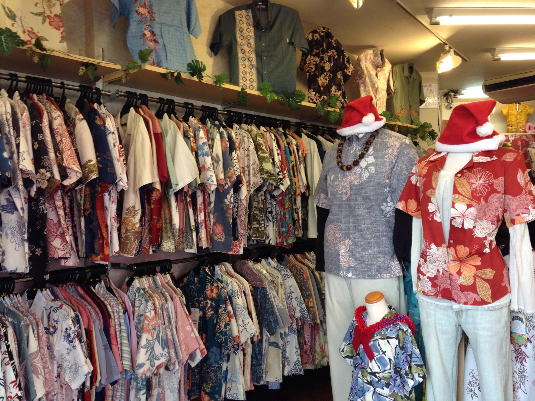 MANGO HOUSE | 沖縄で普段着用の「かりゆしウェア・アロハシャツ」を調達するならここ!子ども向けには女性用Sサイズが使えました!