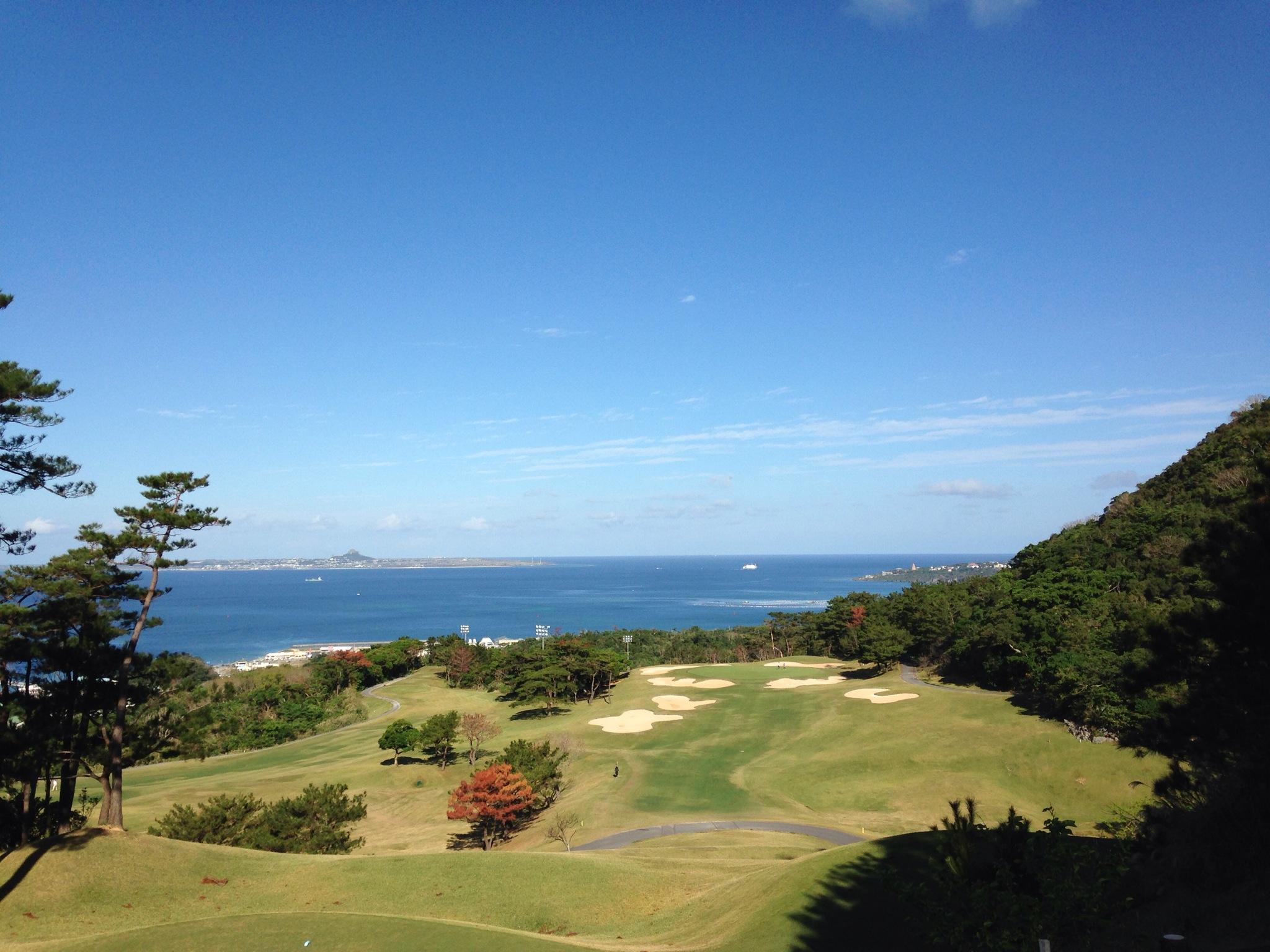 ベルビーチゴルフクラブ、宮里三兄弟が沖縄で腕を磨いた、海が見える絶景ゴルフ場でのラウンド  その1