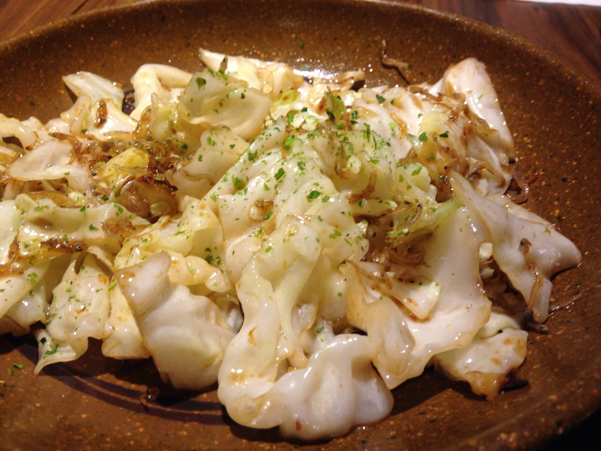 大阪の味たこの木。ワイキキで食べられる、なにわの心の居酒屋は、ちりめんキャベツがどエライ美味かった!!