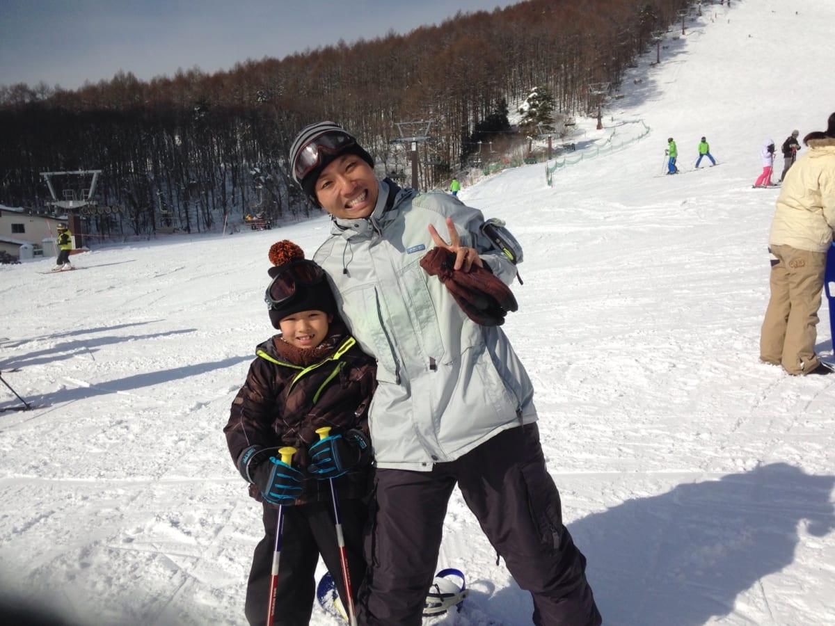 菅平高原で初スキー | 小学2年生でもスクールを2時間受けたら、転ばず滑れて大好きになりました!