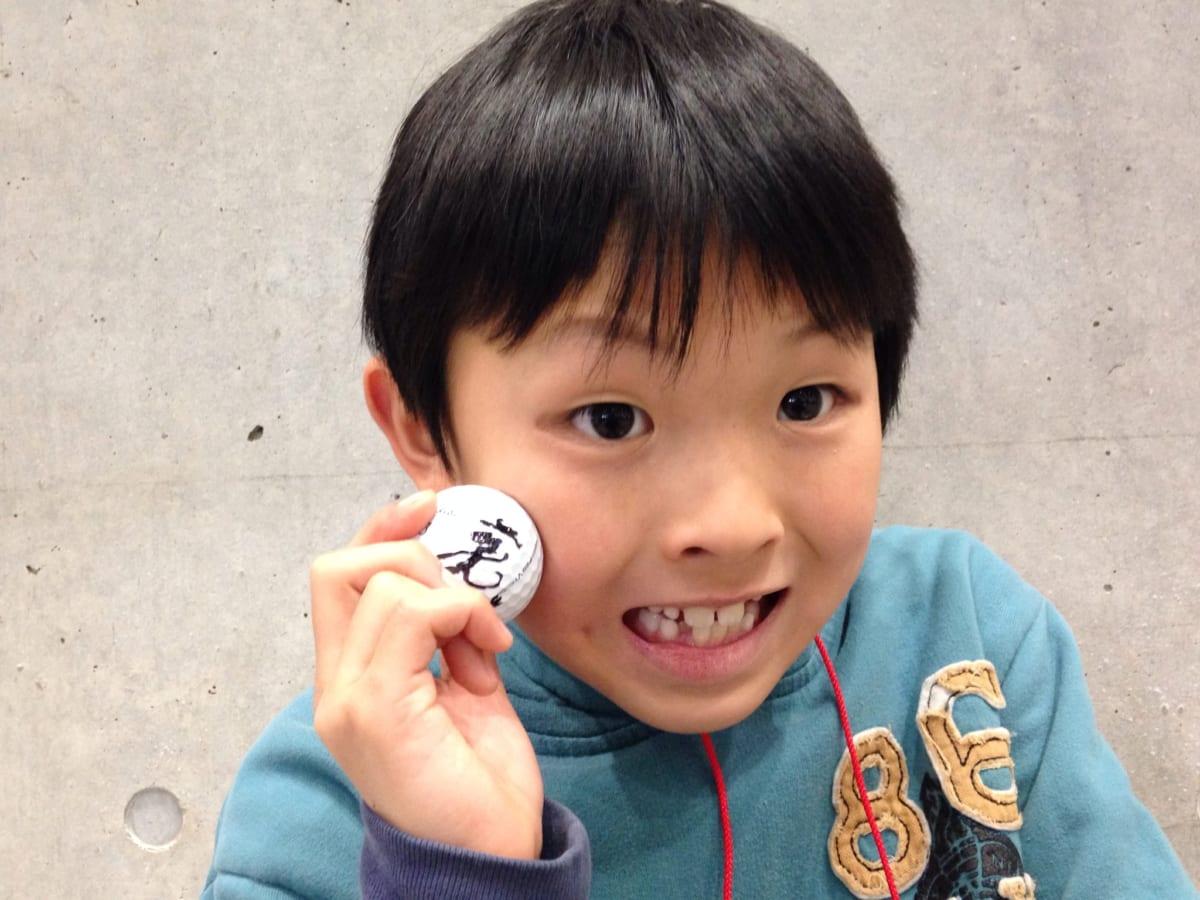 ゴルフフェア2015、憧れの藤田寛之プロのサイン入りボールをGET! ゴルフのきっかけづくりの大切さを改めて感じました!