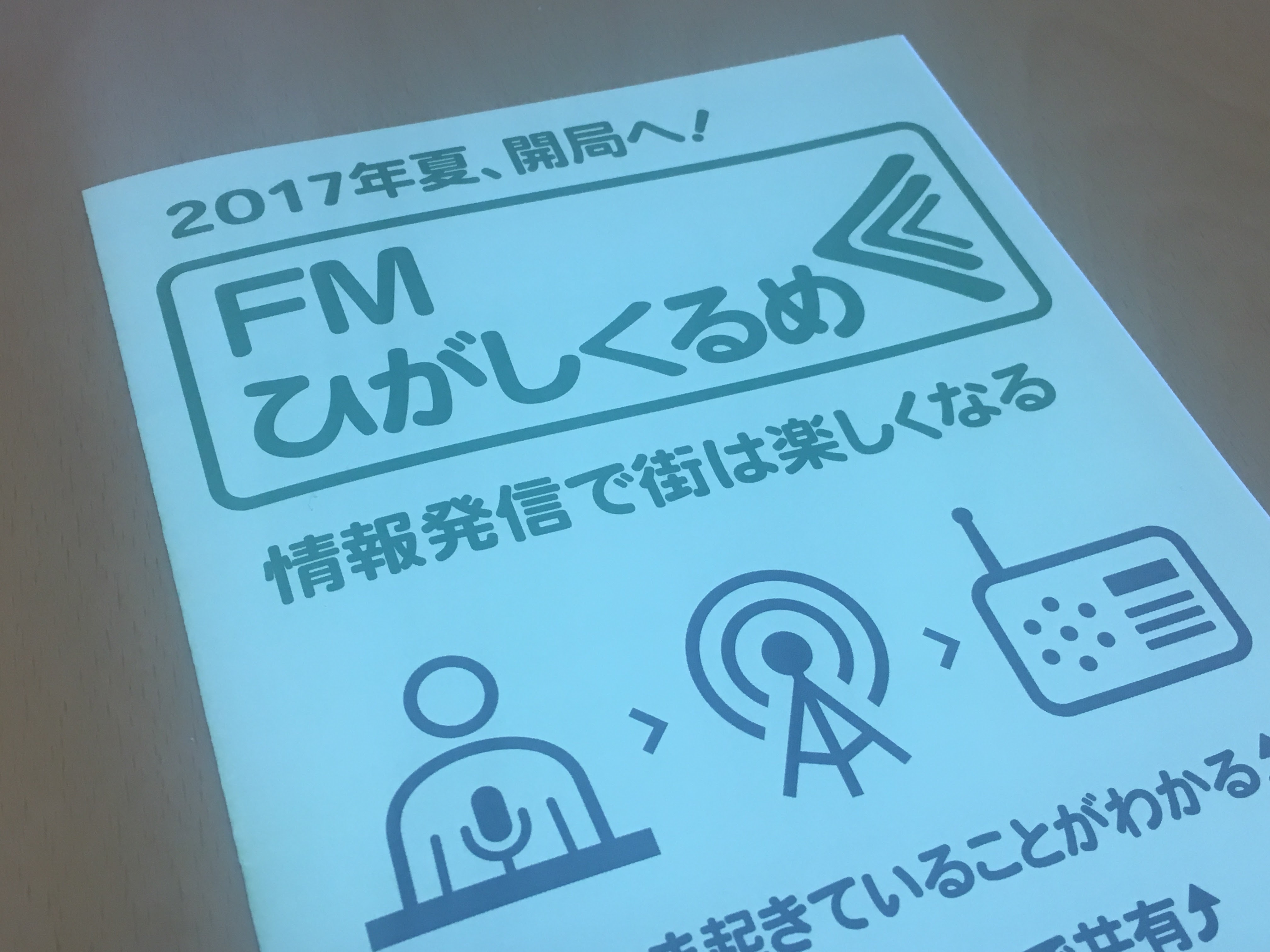 FMひがしくるめ「つっちーのスポーツパーク」収録してきました!東京マラソンを熱く楽しく語って楽しかったー。