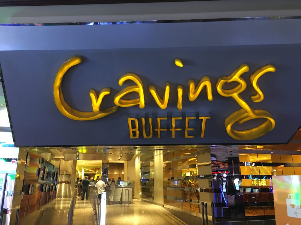 クレービングス│ラスベガス ミラージュのバフェ 食べ放題・アルコール飲み放題で旅の疲れを癒してくれるお店