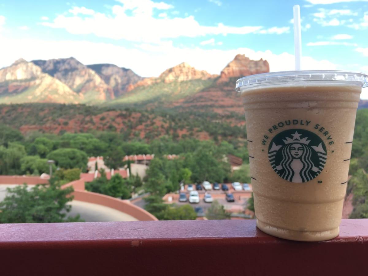 セドナの絶景すぎるカフェ! Sedona Coffee Cafe In Canyon Breeze Restaurant はとにかく絶景すぎて離れたくなくなる場所