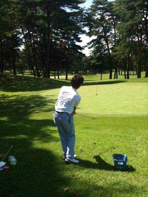 2012夏 ゴルフ合宿 1日目 「アプローチ編」、スコアメイクの鍵!まずはアプローチを2時間みっちり