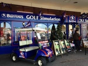 【福岡県】Burrows(バロウズ)、トリアス久山、コストコの隣にお洒落なシミュレーションゴルフスペースが誕生!