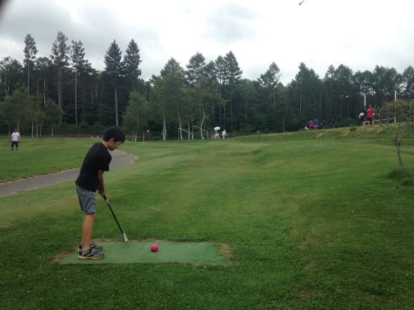 サニアパーク菅平でマレットゴルフ!ラグビー聖地の菅平高原スポーツランド、実は家族レジャーも1000円以内で楽しめました!