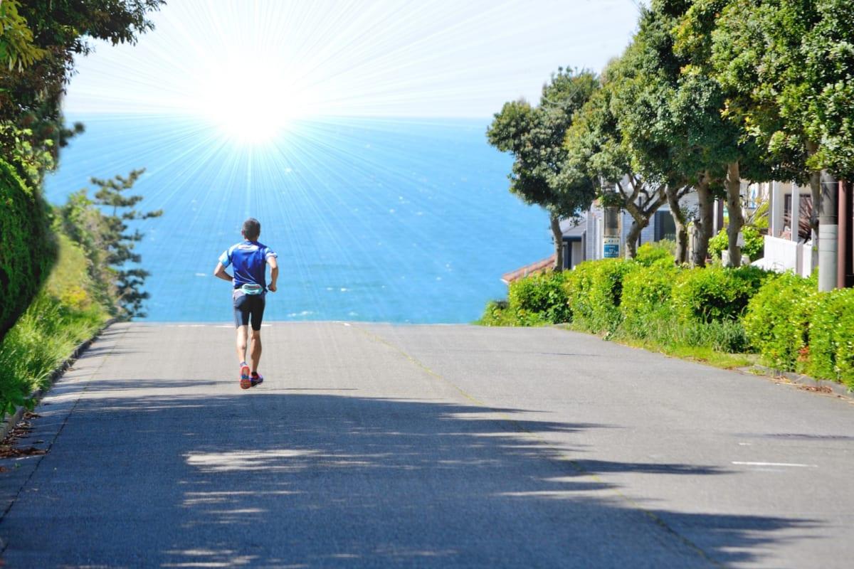 夕日に向かってハーフマラソン。インフルエンザ明けで一応完走も、目標達成にはギアを上げるしかないと実感【東京マラソンまで26日】
