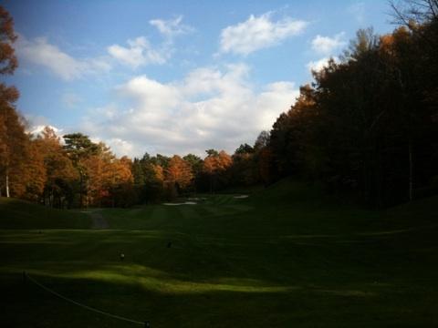 フォレスト鳴沢ゴルフ&カントリークラブ、今回のラウンドはパターを自宅に忘れて大変なことに・・・