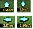 風の向きと強さをシミュレーションゴルフで読むには、「みんゴル」と同じ感覚でOK!