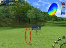 シミュレーションゴルフ、パターのフック・スライスの読み方は「みんゴル」と一緒!