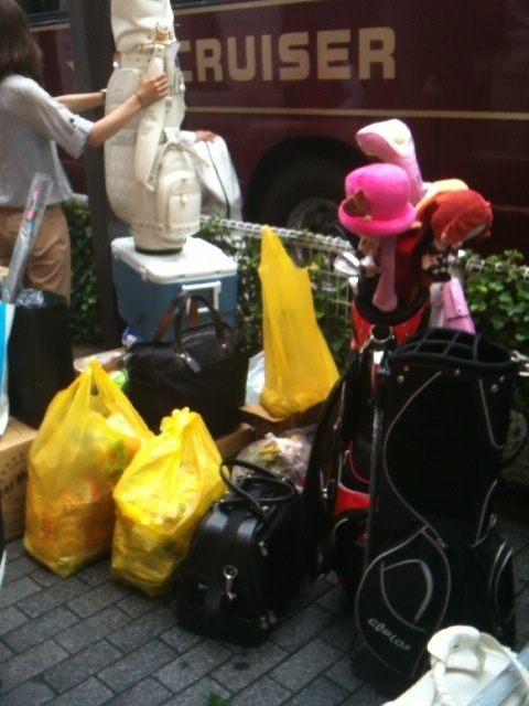 新・ユーアイゴルフクラブ  男女40人のバス貸切「紳士淑女コンペ」 その1