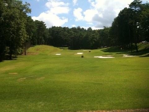2012夏 ゴルフ合宿  2日目  「練習場編」、まるで貸切のような練習場でとことん打ち込み
