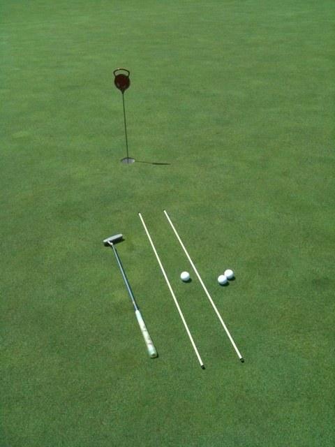 2012夏 ゴルフ合宿  2日目  「パター編」、ショートパットを道具を使って徹底攻略!