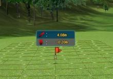シミュレーションゴルフ、パットの上り下りを正確に読める方法 (かなり裏技)