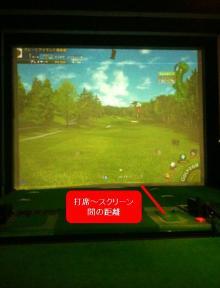 シミュレーションゴルフ、カップまでの残り距離を知るには、妄想力が必要!?