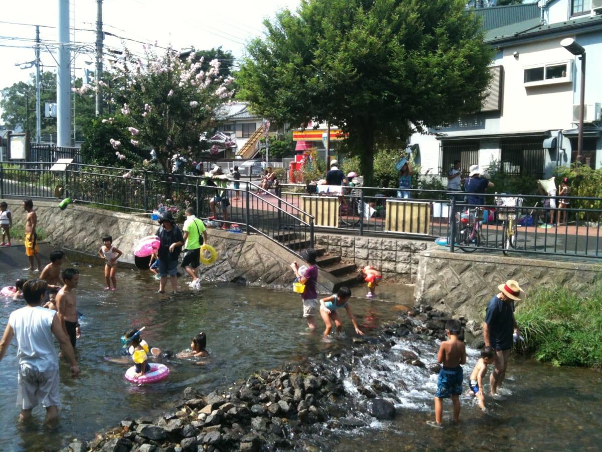 スーモで地元写真を投稿して紹介してみよう! というわけで都内唯一の名水「東久留米の落合川」をアップしてみたよ♪