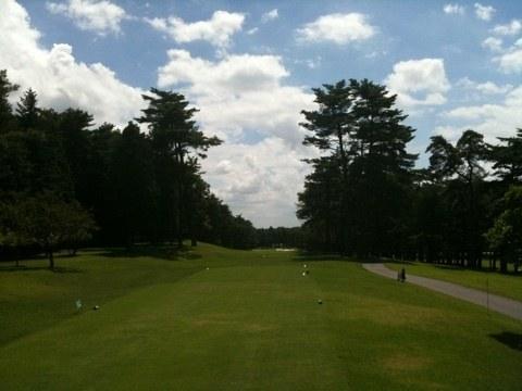 2012夏 ゴルフ合宿 1日目 「ラウンド編」、まず最初のテーマは、楽々ダブルボギーを取るにはどうすればいいか