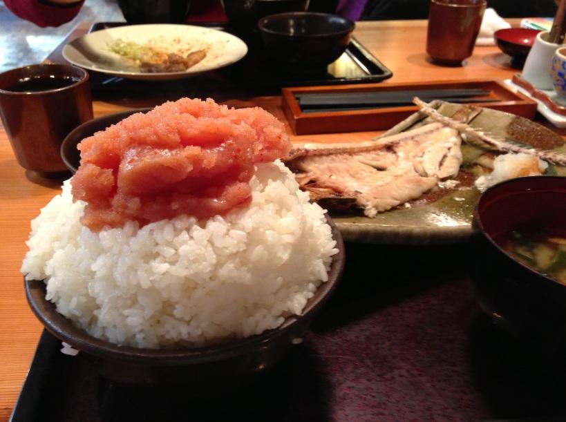博多もつ鍋やまや 新橋店│明太子食べ放題のランチは「ご飯をハンパなく大盛り」にするとさらに幸せに!